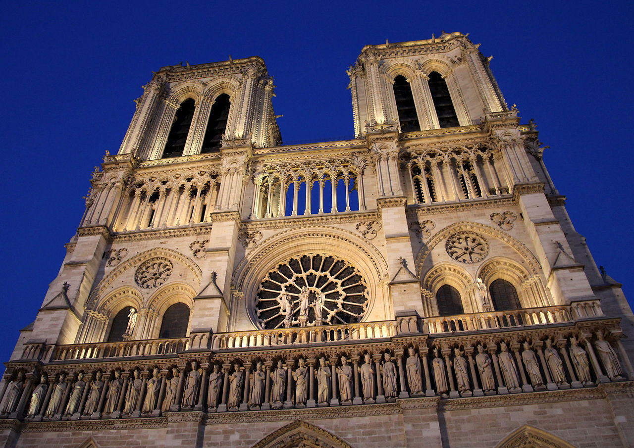 Notre-Dame Cathedral Paris France